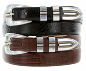Vincente Italian Leather Designer Belt  $32.50