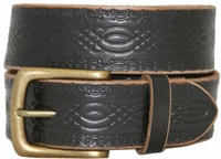 Vintage 85 Genuine Leather Belt-Black