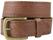 Vintage 85 Genuine Leather Belt-Brown