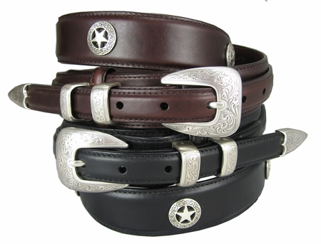 Waco Texas Star Men's Ranger Belt