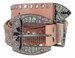 Western Bling Rhinestone Leather BeltS3