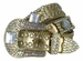 Western Cowgirl Crystal Gem Bling Rhinestone Leather Belts2