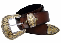 Western Leather Casual Belt  ( Click here to see more Styles)