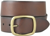 "William Genuine Full Grain Leather Belt 1-3/4"" - Brown"