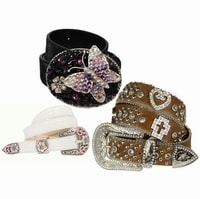 Women's Rhinestone Belts