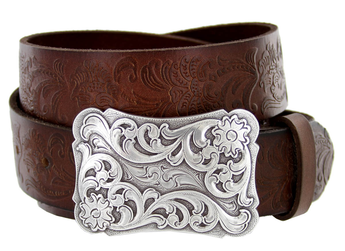 Xanthe Women S Western Full Grain Leather Belt