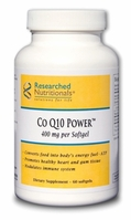 Co Q10 Power™ Researched Nutritionals (400 mg)