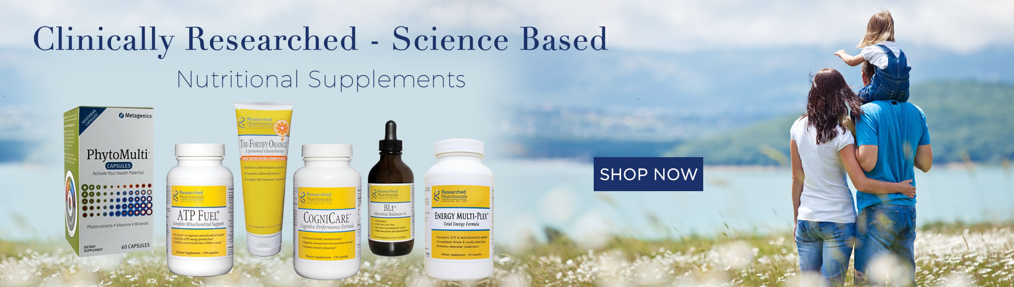 Clinically Researched - Science Based