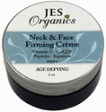 Natural Organic Infused Peptide Neck & Face Firming Cr�me with Vitamin C, Glycolic & Squalane