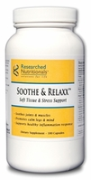 Soothe & Relaxx Soft Tissue & Stress Support Researched Nutritionals