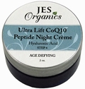 Natural Organic Infused Ultra Lift CoQ10 Peptide Cr�me with Hyaluronic Acid