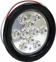 Buyers - Light, 4Inrd, Back-Up, 10 Led, Clear, W/