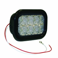 Buyers - Light, 5.3In, Rect. Back-Up, Clear, 32 Led