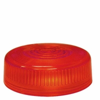 PM   102-15R   Red Repl. Lens   Round Clearance/Side Marker Replacement Lens