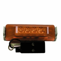 Piranha � LED   161KA   Amber Kit   LED Clearance/Side Marker Light