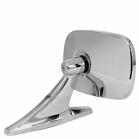 PM   595   Chrome    Rectangular Mirror