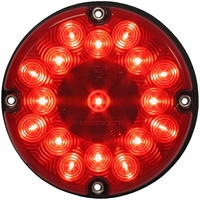Peterson (PM) 717R Red Led Bus Stop Turn & Tail Light