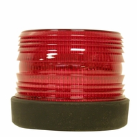 PM   765R   Red, 120V   Single-Flash Strobe Light
