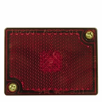 PM   M114R   Red   Clearance/Side Marker Light with Reflex