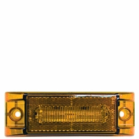 Piranha � LED   M187A-MV   Amber, Multi-Volt   Clearance & Side Marker Light w/Reflex (2-Wire)