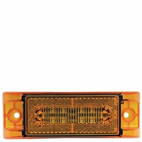 Piranha � LED   M353A   Amber w/Aux. Turn   Clearance & Side Marker Light w/Auxiliary Turn Function (3-Wire)