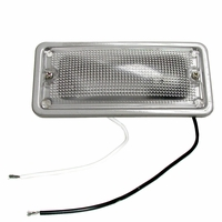 PM   M396C   Clear   Rectangular Dome Light