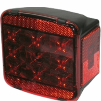 Peterson (PM) M840 LED Stop and Tail Light Without License Light