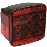 Peterson (PM) M840L LED Stop and Tail Light With License Light