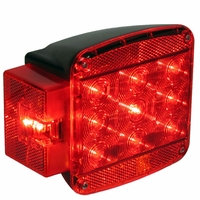 Peterson (PM) M852L Led Stop, Turn, Tail , & License Trailer Light Kit