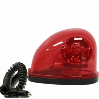 PM   V774R   Red   Teardrop Revolving Light