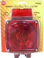 PM   V452L   w/License Light    Submersible Combination Tail Light
