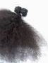Natural Kinky Afro Remi U tip Keratin Human Hair Extension