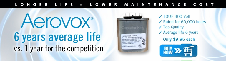 Aerovox capacitors have a longer life