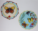Butterfly Circular Paintings