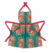 China Flowers Apron