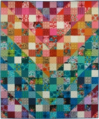 Color Dive Quilt