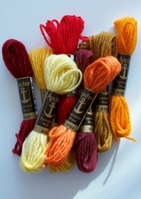 Firelight Wool Palette