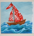Hawaiian Sailboat Painting