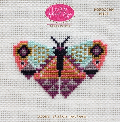 Moroccan Moth Pattern