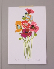 """Poppies""- SOLD OUT"