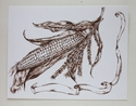 Toile Corn Painting