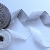 Wide Linen Ribbon