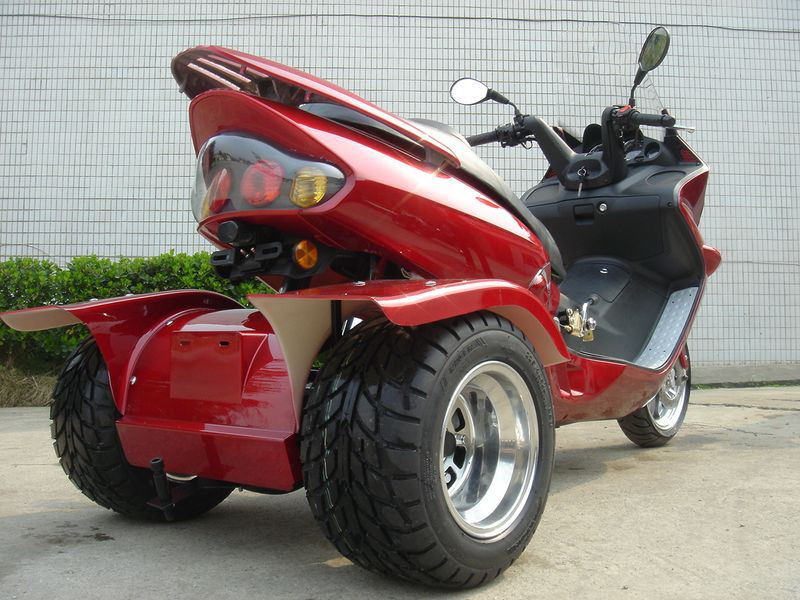 3 wheel trike gas motor scooters autos post