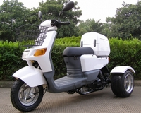 PST50_9 50cc Automatic Trike Gas Motor Scooters