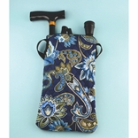 Ableware 703340010 Blue Folding Cane Bag