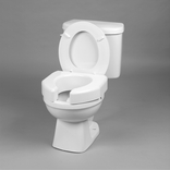 Ableware 725790000 Basic Open Front Elevated Toilet Seat