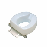 "Ableware 725841000 2"" Contoured Tall-Ette Elevated Toilet Seat-Standard"
