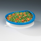 Ableware 745350012 Scooper Plate with Suction Cup Base