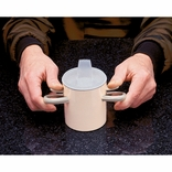 Ableware 745720001 Arthro thumbs-Up Cup with Lid