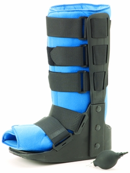 Air Traveler  Walker High Boot Lo-Profile with Bladder Large